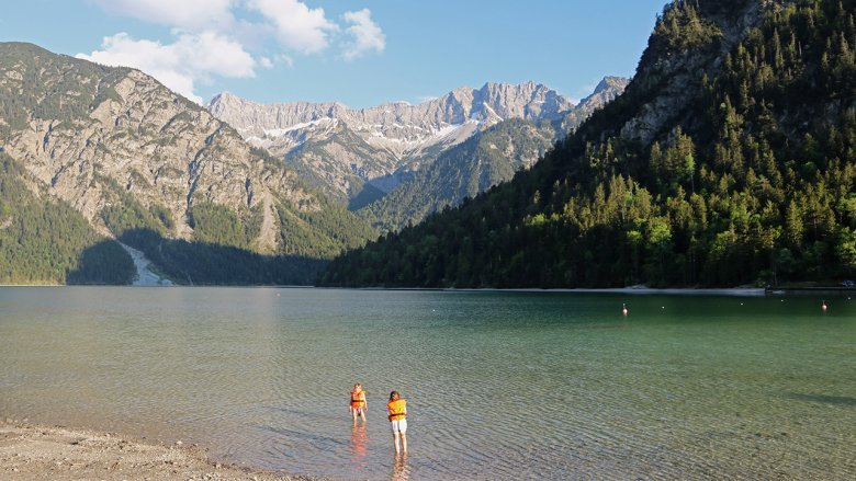 The Plansee is Tirol's second-largest lake after the Achensee.