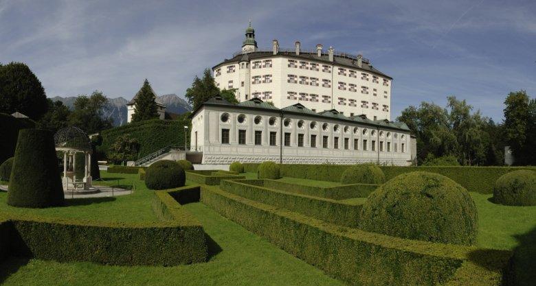 Park in Ambras Castle Innsbruck (Tirol Werbung/Bernhard Aichner)