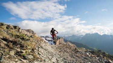 Riding the Flimjoch Trail, © TVB Ischgl-Paznaun