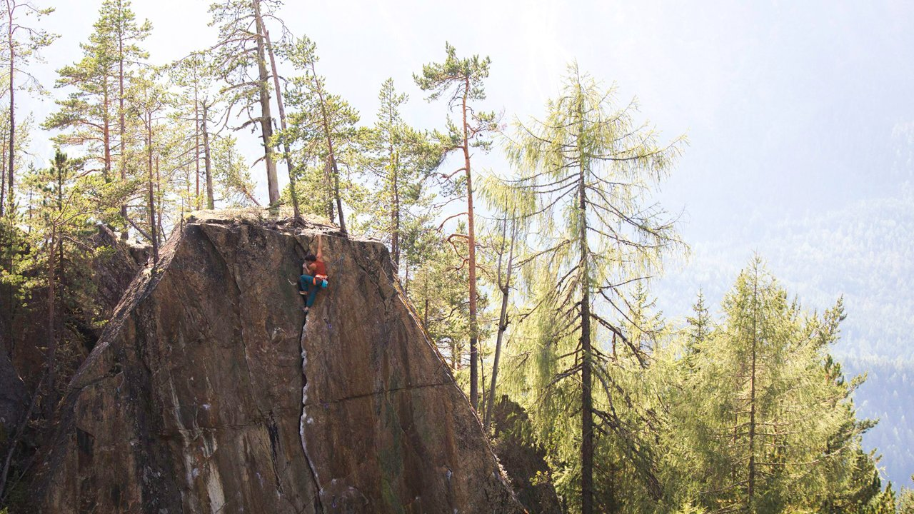 """The climbing route """"Le Miracle"""", © Alpsolut / Johannes Mair"""