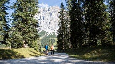 Hiking in the Gaistal Valley, © Tirol Werbung/Dominik Gigler