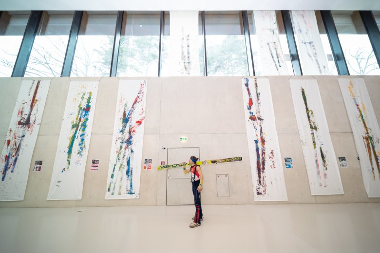 The art of ski jumping – one of the side events at the World Championships 2019.