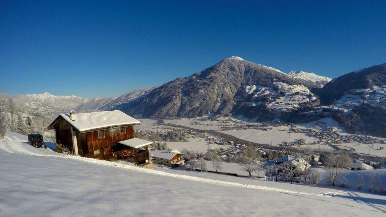 Waldhütte in the Zillertal Valley, © Chalets & Apartments Wachterhof