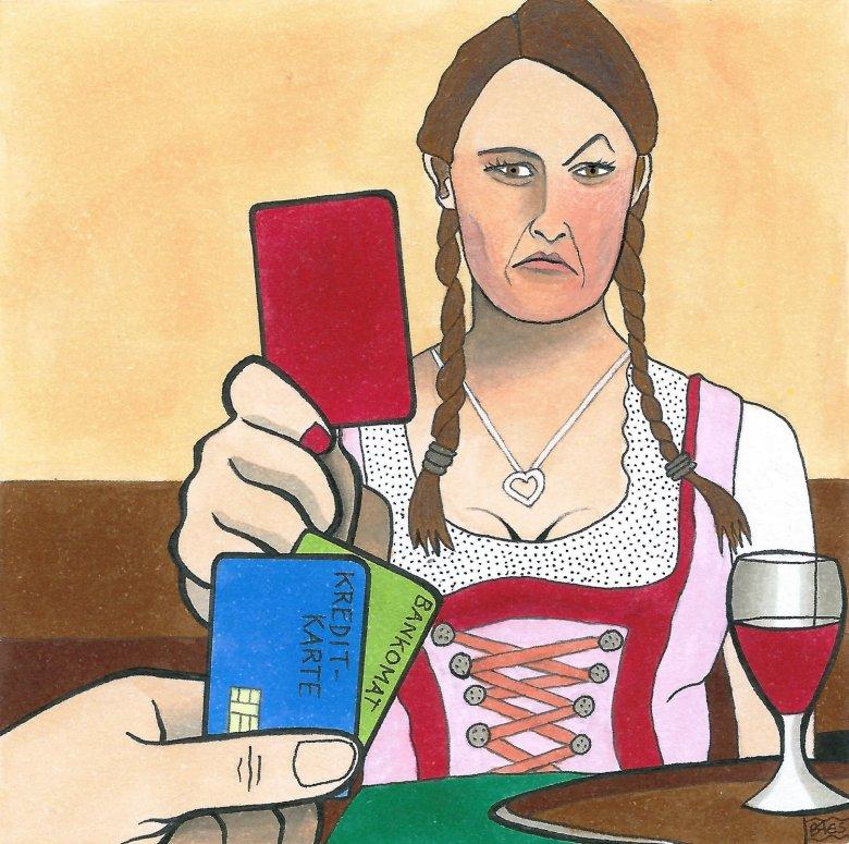 Bring Cash. , © Illustration by Bertram Haid