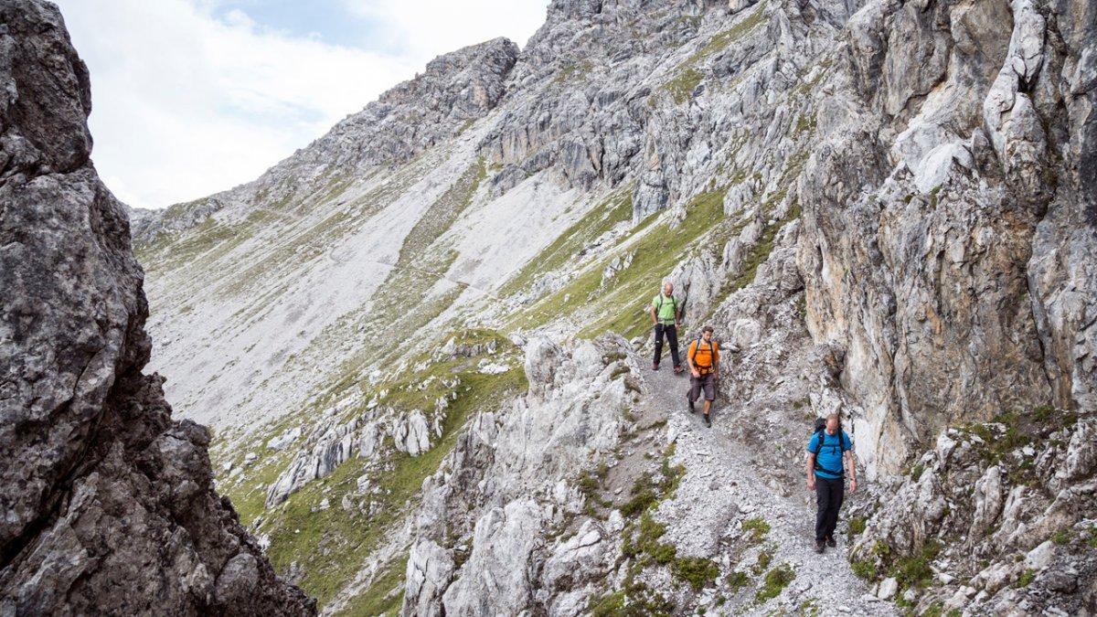 Hiking Tour from Hanauerhütte Hut to Württemberger Haus Hut, © Tirol Werbung/Dominik Gigler