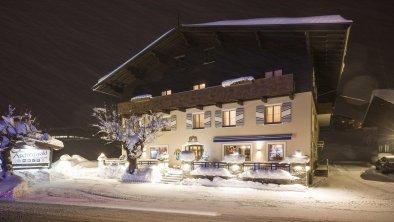 Haus Winter Nacht