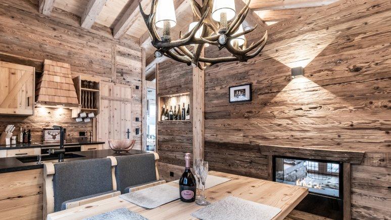 Kitchen, Chaletdorf Benglerwald, © Chaletdorf Benglerwald