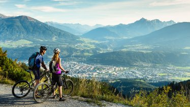 Mountain biking above Innsbruck, © Innsbruck Tourismus