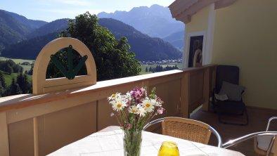 Balkon. Bergfriede, © Ferienhof Obertenn