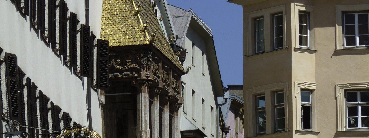 The Golden Roof at the Old Town of Innsbruck, © Tirol Werbung/Bernhard Aichner