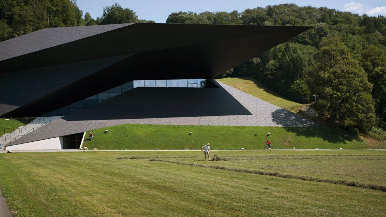 Festspielhaus Erl, Architects: Delugan Meissl Associated Architects, © Tirol Werbung/Bert Heinzlmeier