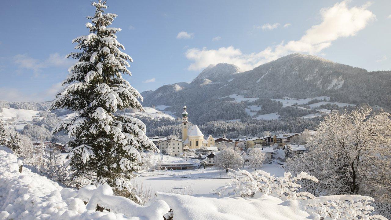 Reith im Alpbachtal in winter, © Alpbachtal Tourismus / Matthias Sedlak