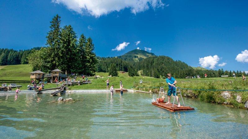 Filzalmsee Lake in Brixen im Thale, © Christian Kapfinger