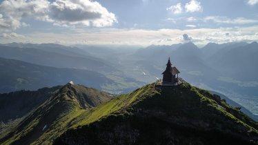 Kellerjoch Hut and Chapel, © TVB Silberregion Karwendel