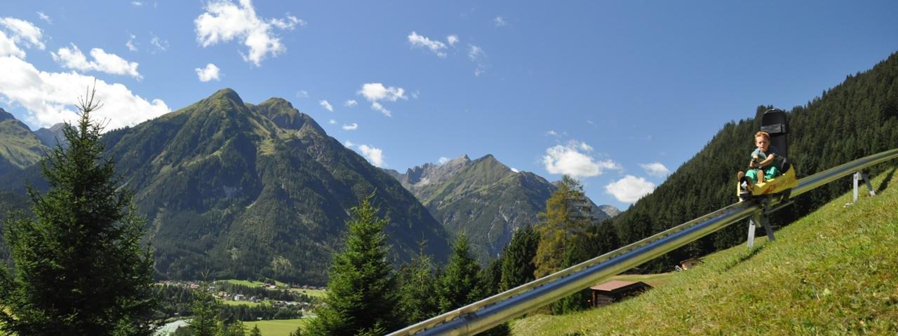 Wally-Blitz Alpine Coaster in Elbigenalp, © Armin Knittel