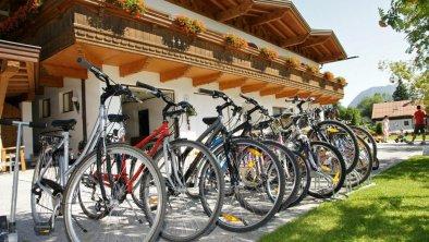 Komfort-Apartments Zufriedenheit - Fahrräder, © Komfort-Apartments Zufriedenheit
