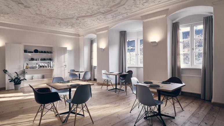 Breakfast room at the Kontor hotel, © Klaus Maislinger