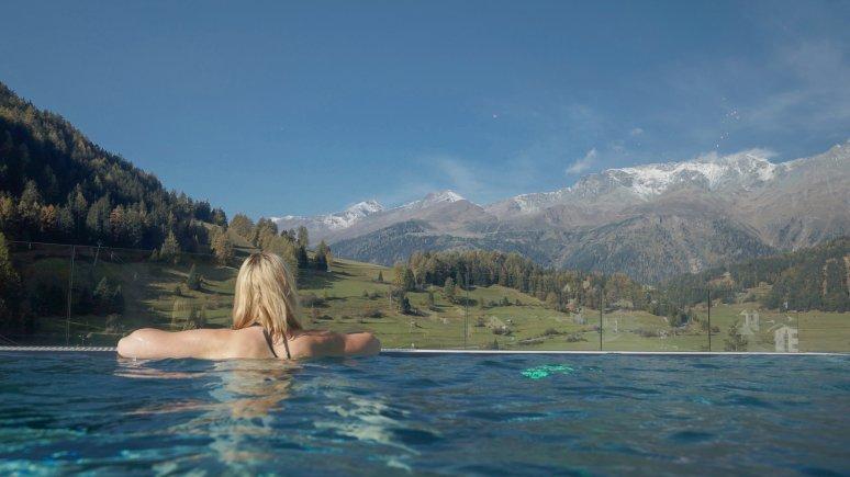 Pool at Mein Almhof in Nauders