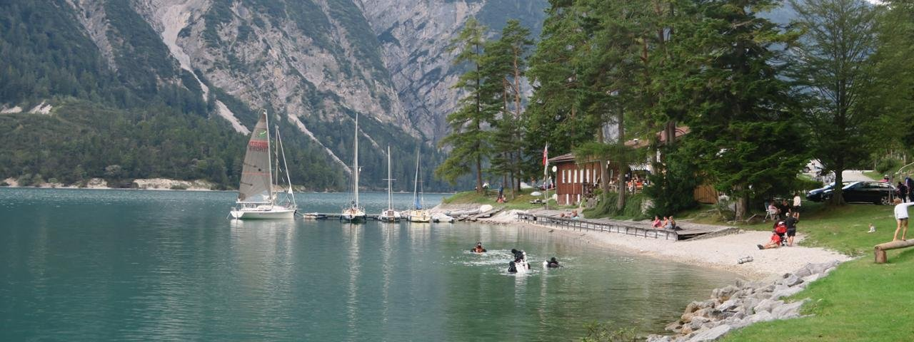 Wheelchair-accessible hike at Lake Achensee