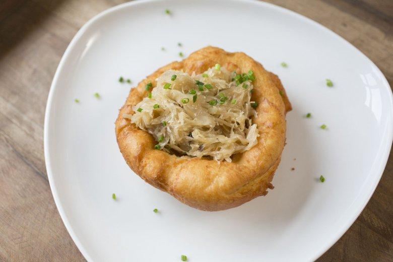 Aldranser Alm, Kiechl mit Sauerkraut