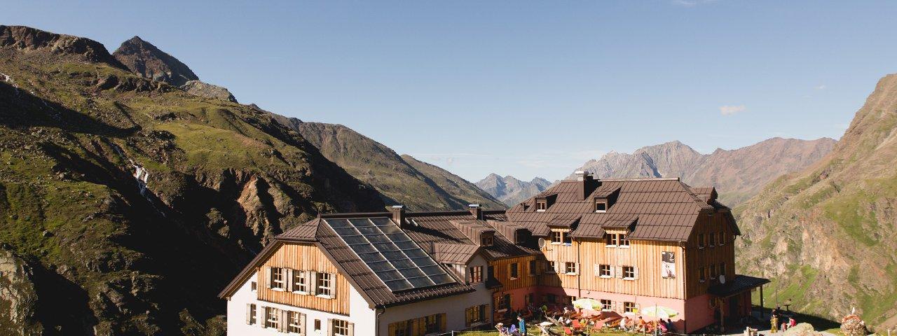 Taschachhaus, © Tirol Werbung/Bert Heinzlmeier