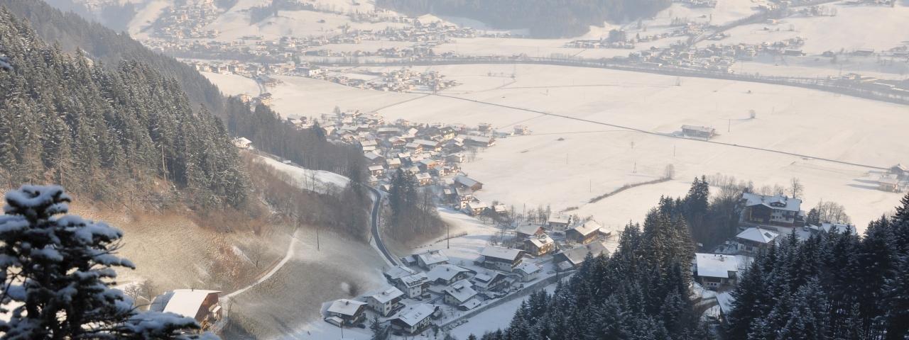 Schwendau in winter, © Archiv Gemeinde Schwendau