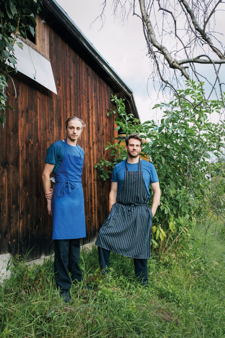 Two men, one restaurant: Starting their own business was a dream come true for Waal Sterneberg (left) and Thomas Kluckner (right).