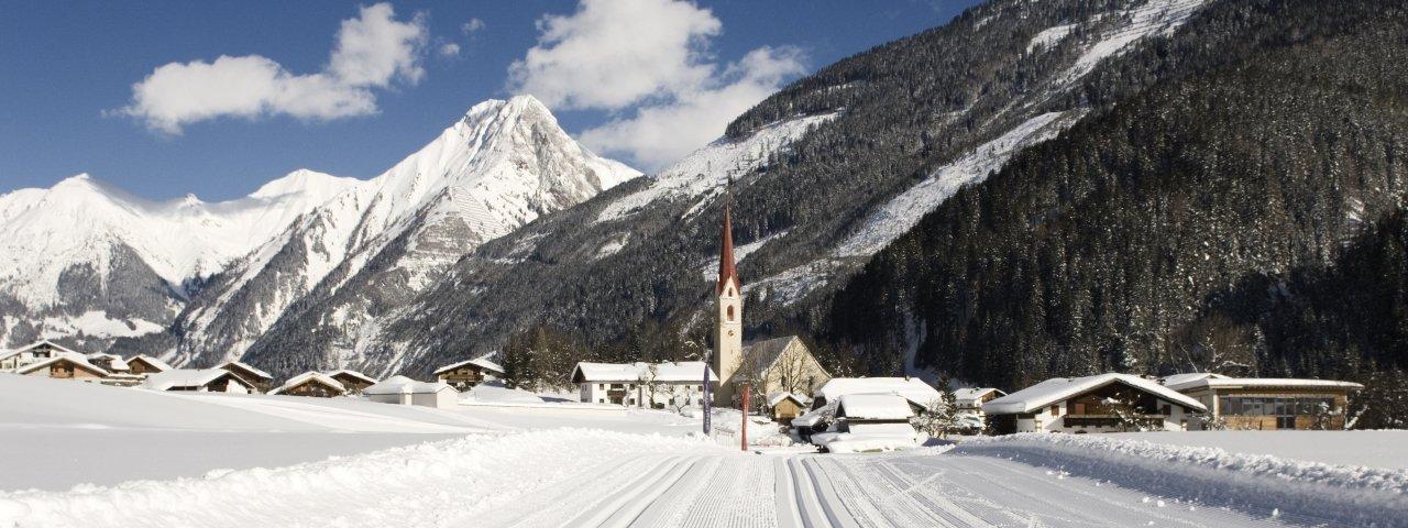 Häselgehr in winter, © Naturparkregion Lechtal
