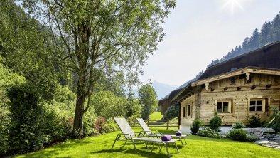 Das Zillergrund Mayrhofen - Garten