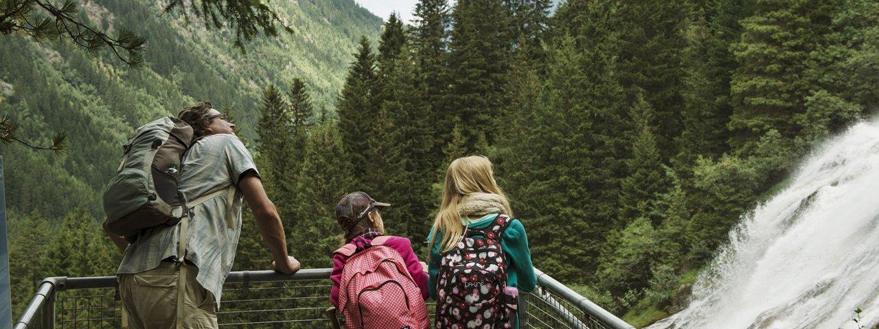 Grawa Waterfall, © Tirol Werbung/Frank Bauer