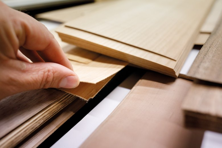 The topsheet can be made of any wood, from bamboo to cherry.