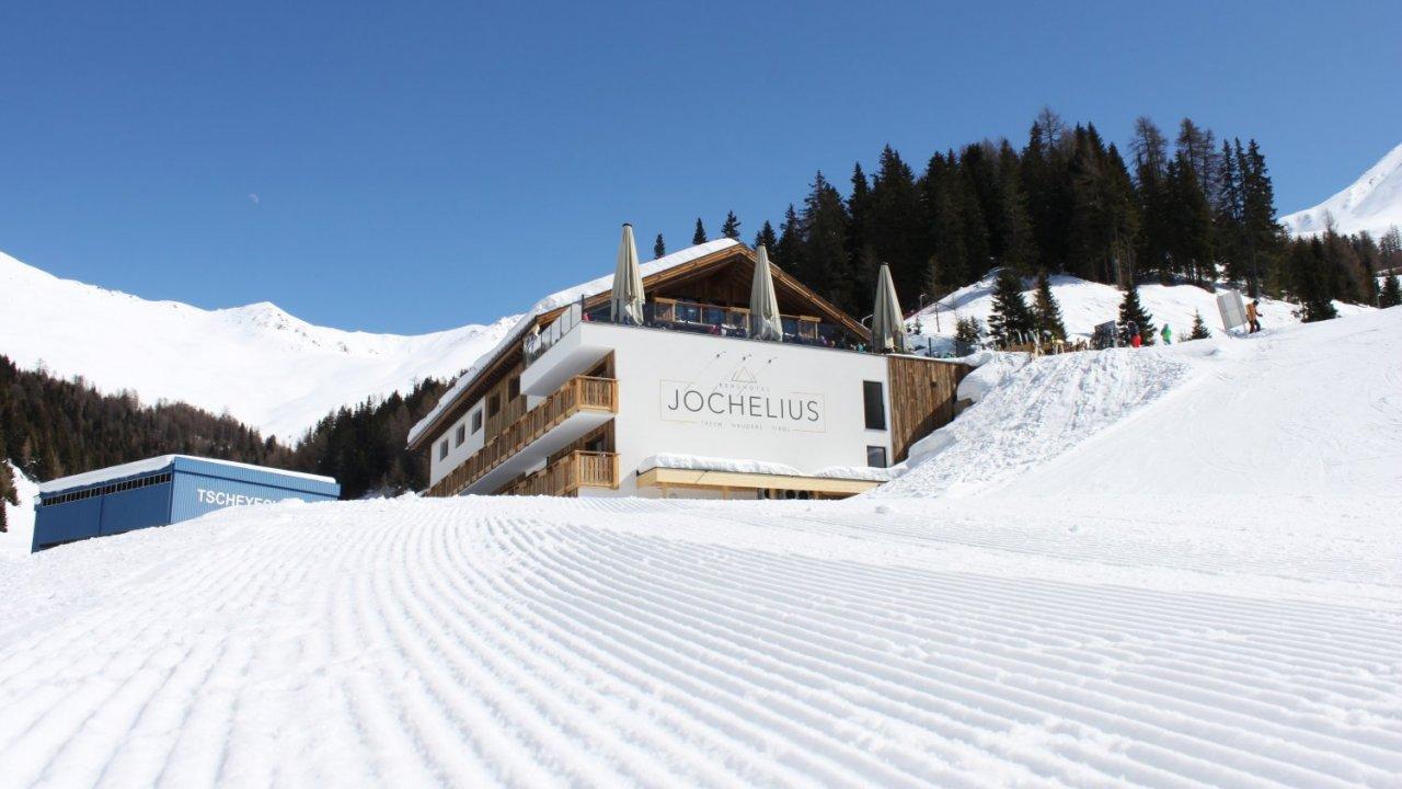 The Berghotel Jochelius in the ski resort of Nauders, © Berghotel Jochelius