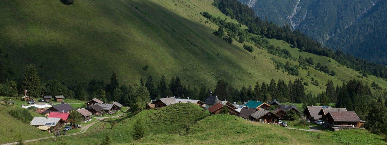 Fallerschein alpine village in the Lechtal Valley, © Tirol Werbung/Jörg Koopmann