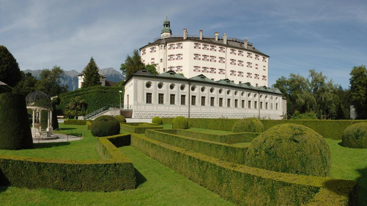 Whatever you may think about the Habsburg legacy, the magnificent Schloss Ambras castle with its spectacular Chambers of Art and Curiosities and magical gardens are an absolute must-see and very popular with locals., © Tirol Werbung/Bernhard Aichner
