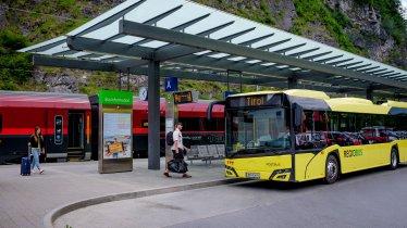 Public Transportation in Tirol, © Tirol Werbung/Gerhard Berger