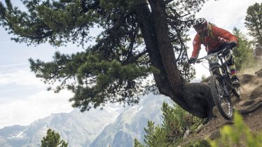 Fun and enjoyment is the name of the game at the Single Trail Scavenger Hunt in Sölden, © Ötztal Tourismus