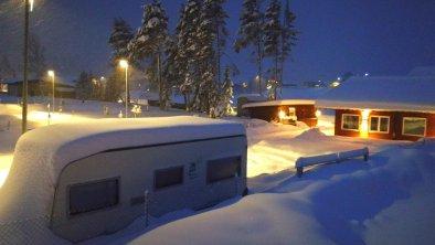 Wintercamping, © M. Reich