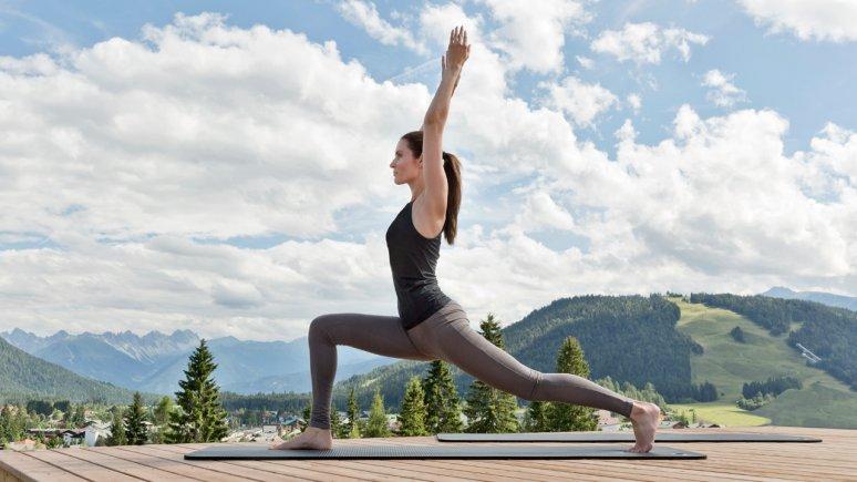 Yoga at Natur & Spa Hotel Lärchenhof, © Natur & Spa Hotel Lärchenhof