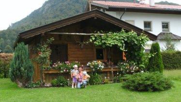 Haus Alpina Garten Huette