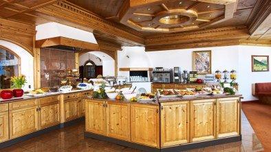 Restaurantbereich mit Buffetbereich