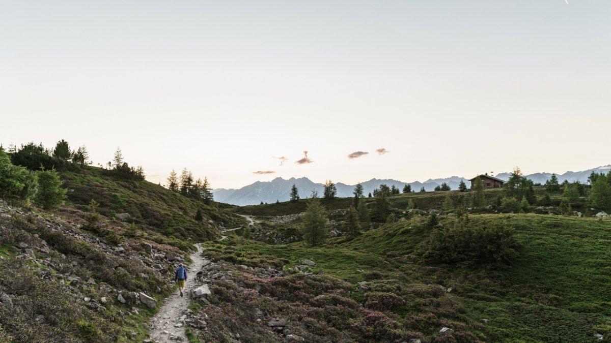 The Zirbenweg Trail offers easy hiking above the treeline