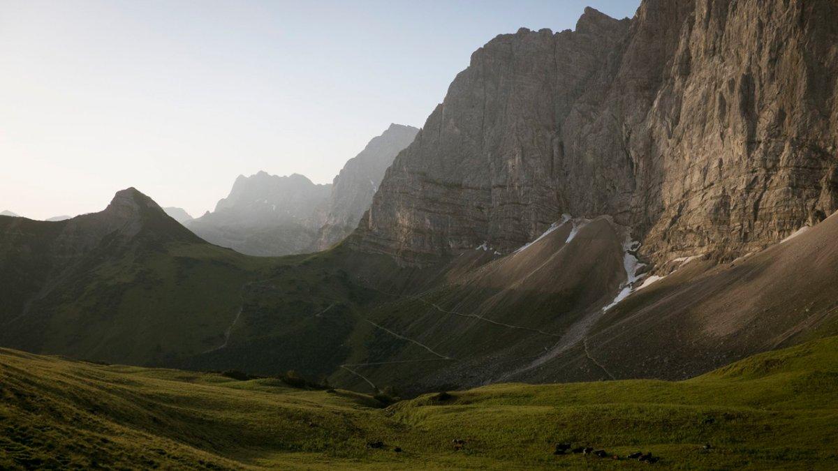 The Eagle Hike leads through the Karwendel Mountains, © Tirol Werbung