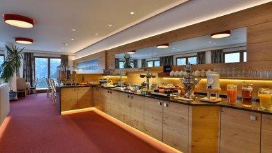 Buffet-Frühstücksraum