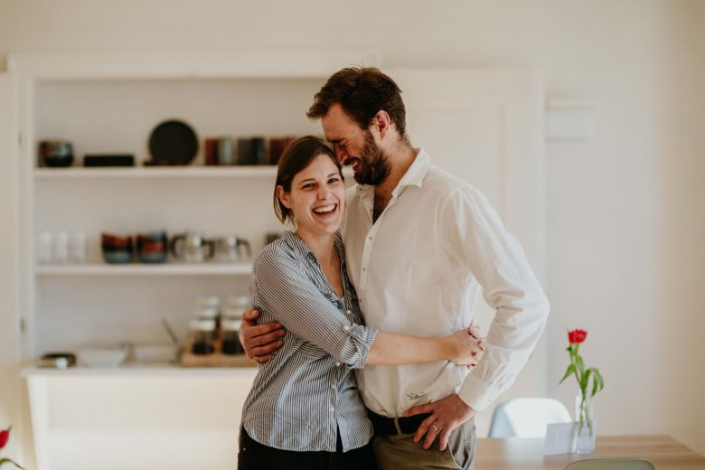 Ursula and Marek share more than just love for each other — they also share a passion for old houses.