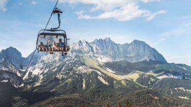 Astbergbahn chairlift in Going, © TVB Wilder Kaiser