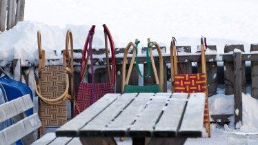 Tobogganing in Tirol, © Tirol Werbung/Martina Wiedenhofer