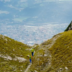 Goetheweg Trail above Innsbruck, © Tirol Werbung/Hans Herbig