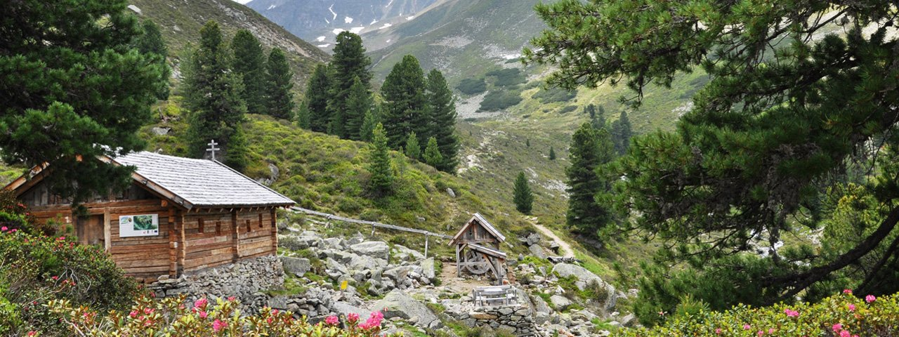 Miner's Home on the Shores of Puchersee Lake, © Knappenweg Hochoetz