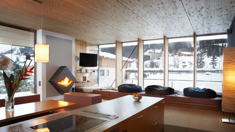 Anton Aparthotel, St. Anton am Arlberg, © urlaubsarchitektur.de/Foto: Hotel Anton