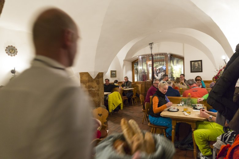 Huberbräu offers the ultimate Alpine and hearty dining experience